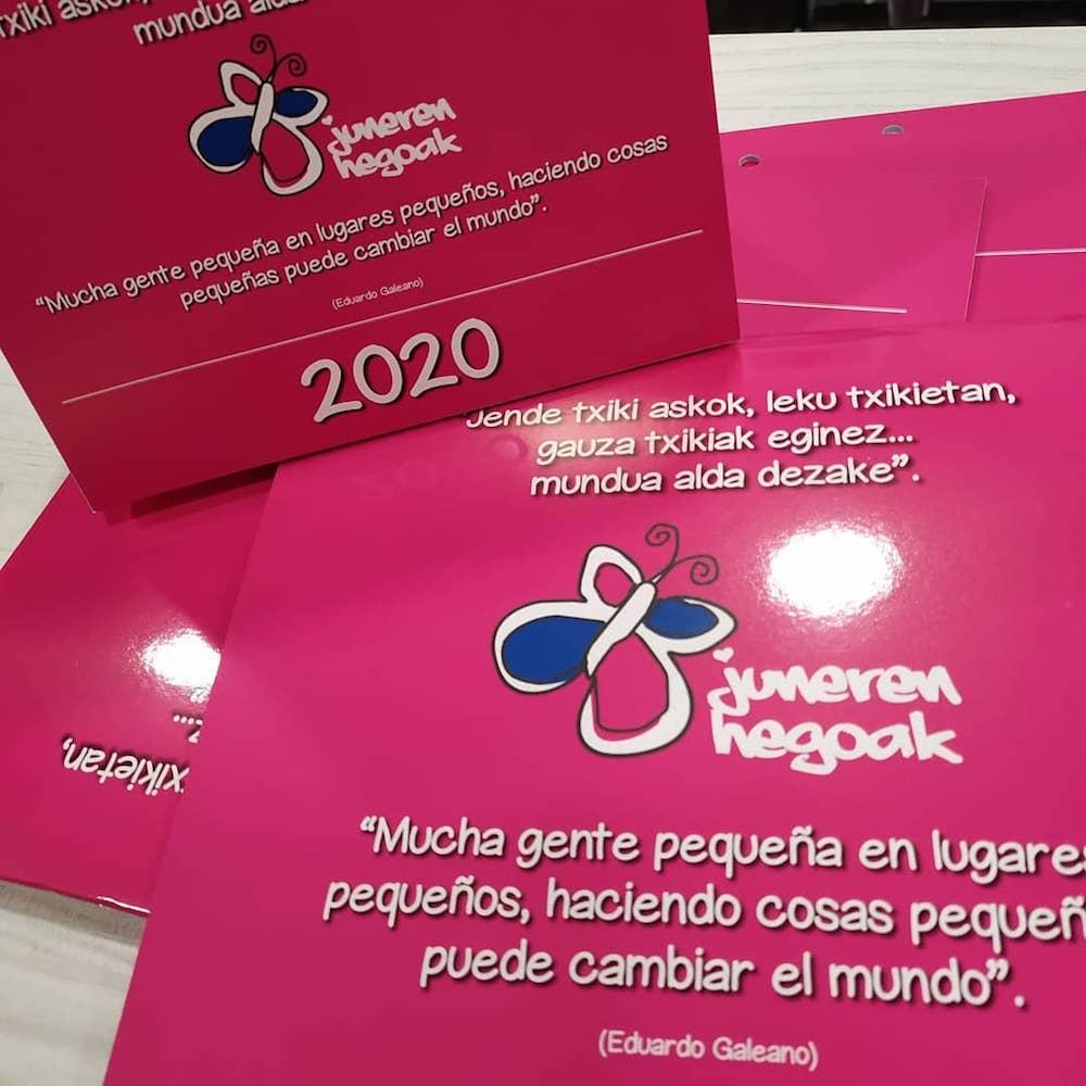 Calendario Juneren Hegoak 2020